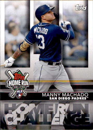 Photo of 2020 Topps Home Run Challenge Code Cards #HRC18 Manny Machado