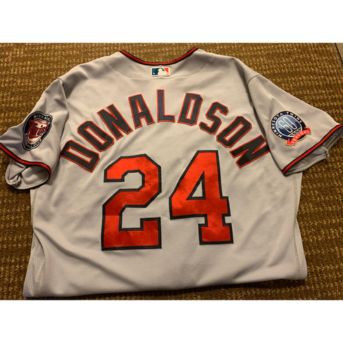 Photo of Josh Donaldson Team-Issued Jersey