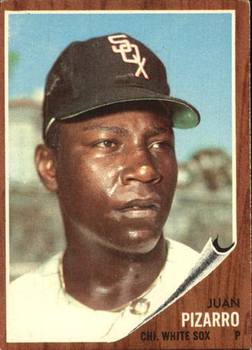 Photo of 1962 Topps #255 Juan Pizarro