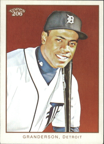 Photo of 2009 Topps 206 #119 Curtis Granderson
