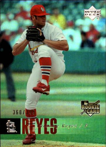 Photo of 2006 Upper Deck Rookie Foil Silver #996 Anthony Reyes /399
