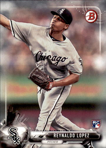 Photo of 2017 Bowman #27 Reynaldo Lopez RC
