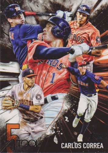 Photo of 2017 Topps Five Tool #5T10 Carlos Correa