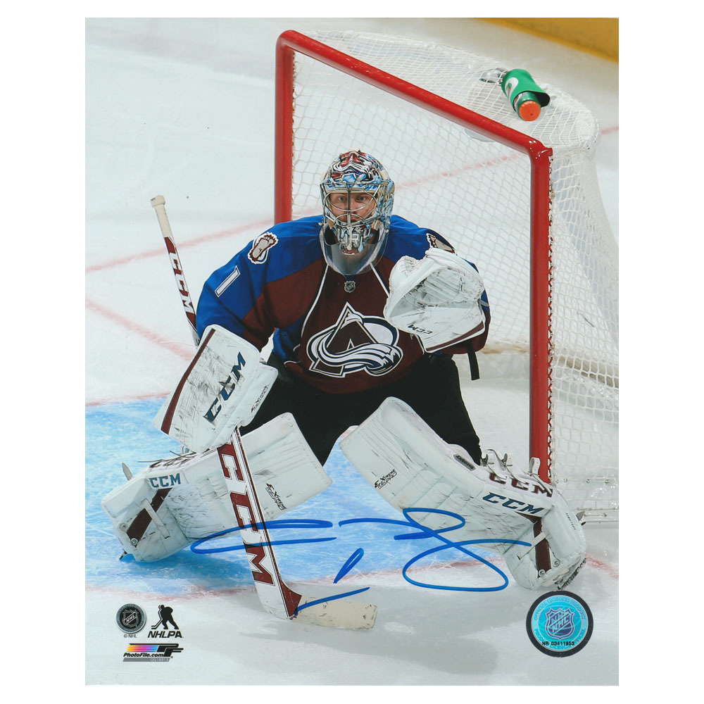 Semyon Varlamov Autographed Colorado Avalanche 8X10 Photo