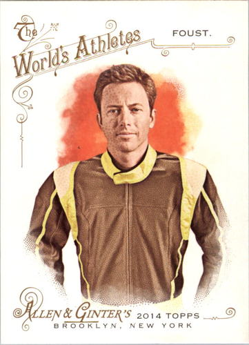 Photo of 2014 Topps Allen and Ginter #224 Tanner Foust