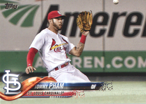 Photo of 2018 Topps #665 Tommy Pham