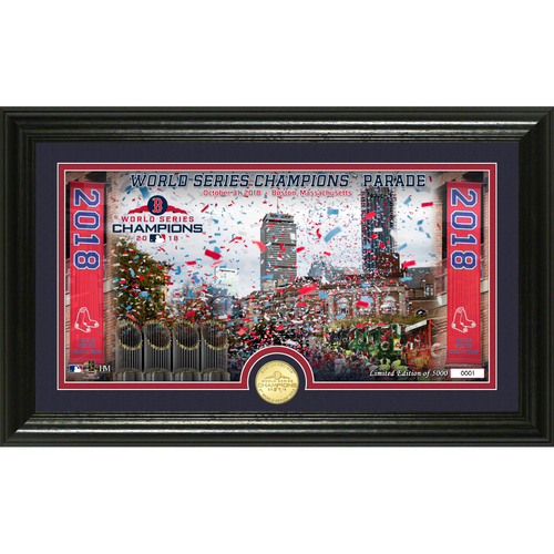 Photo of Boston Red Sox 2018 World Series Champions Parade Single Coin Photo Mint