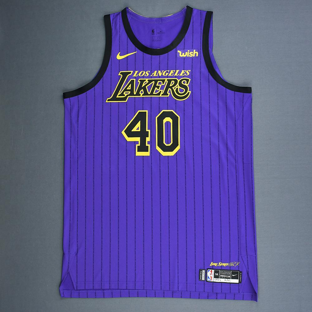 21c82213b Ivica Zubac - Los Angeles Lakers - Christmas Day  18 - Game-Worn City