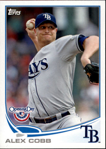 Photo of 2013 Topps Opening Day #146 Alex Cobb