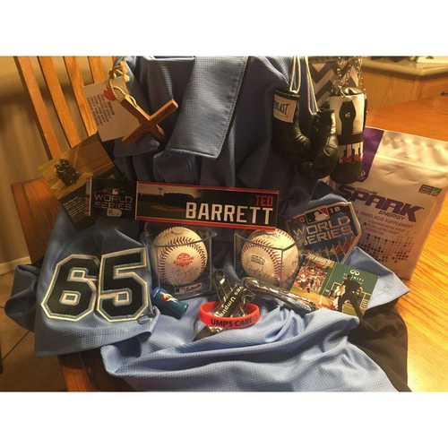 UMPS CARE AUCTION: Ted Barrett Umpire Gift Basket