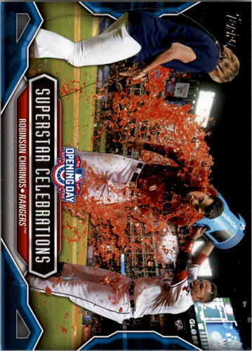 Photo of 2016 Topps Opening Day Superstar Celebrations #SC14 Robinson Chirinos