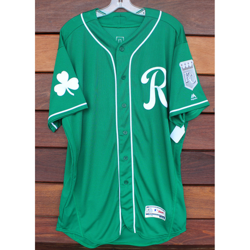 Photo of Team-Issued St. Patrick's Day Jersey: Grant (Size - 46)