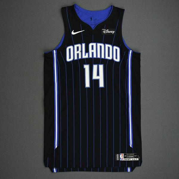 Image of D.J. Augustin - Orlando Magic - Kia NBA Tip-Off 2019 - Game-Worn Icon Edition Jersey