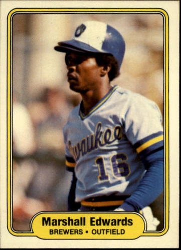 Photo of 1982 Fleer #140 Marshall Edwards