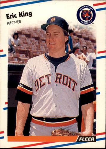 Photo of 1988 Fleer #60 Eric King