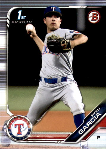 Photo of 2019 Bowman Draft #BD148 Ryan Garcia