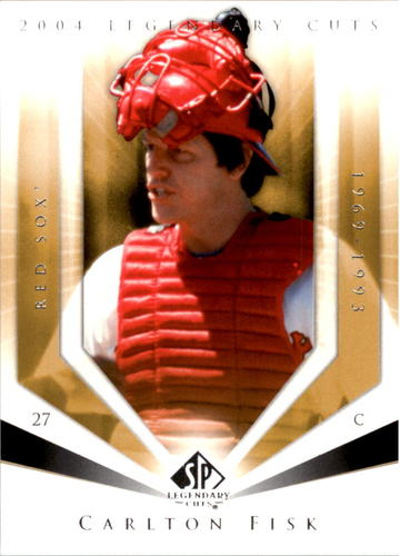 Photo of 2004 SP Legendary Cuts #17 Carlton Fisk