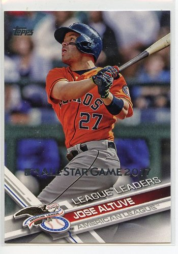 Photo of 2017 Topps All Star Game Silver #214 Jose Altuve LL