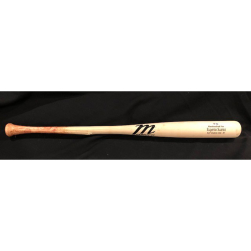 Photo of Eugenio Suarez -- Game-Used Broken Bat -- From 7/28/20 CHC vs. CIN -- Ground Out -- Black Friday Free Shipping