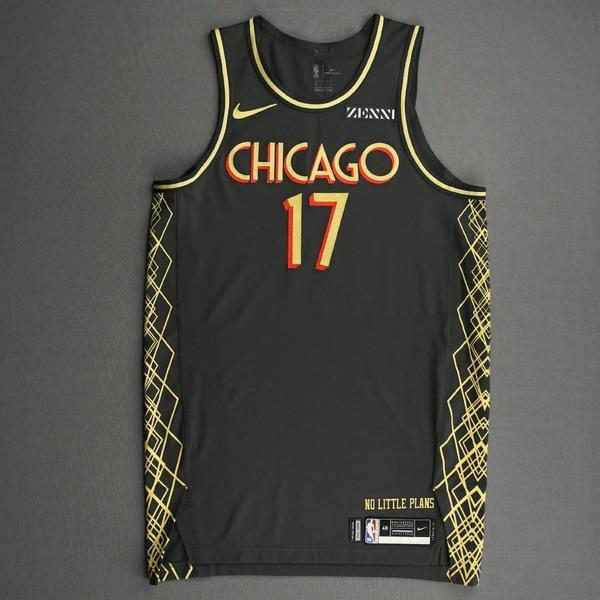 Image of Garrett Temple - Chicago Bulls - City Edition Jersey -2020-21 NBA Season