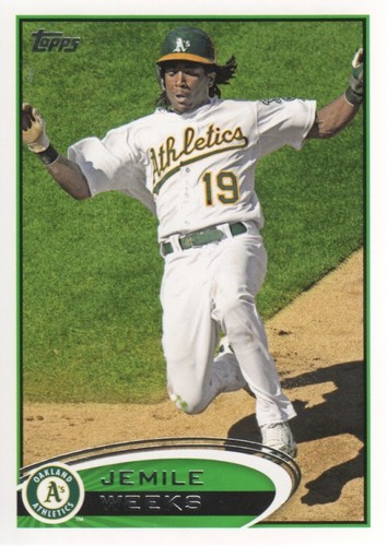 Photo of 2012 Topps #640 Jemile Weeks RC
