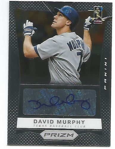 Photo of 2012 Panini Prizm Autographs #MU David Murphy