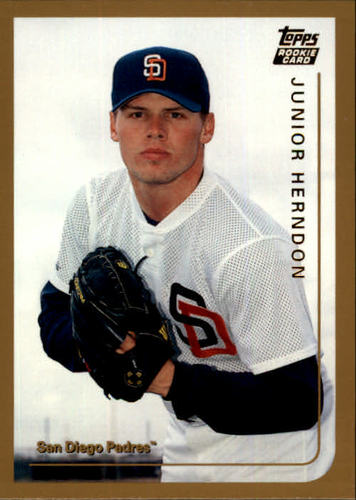 Photo of 1999 Topps Traded #T42 Junior Herndon RC