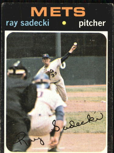 Photo of 1971 Topps #406 Ray Sadecki