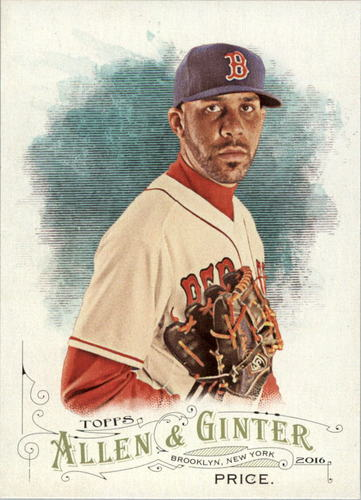 Photo of 2016 Topps Allen and Ginter #270 David Price