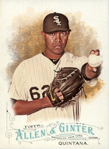 Photo of 2016 Topps Allen and Ginter #289 Jose Quintana