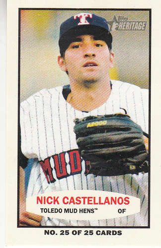 Photo of 2013 Topps Heritage Minors 1964 Bazooka #NC Nick Castellanos