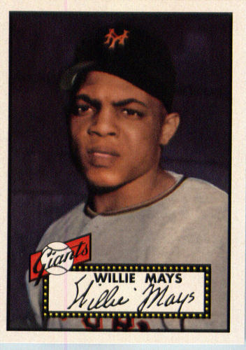 Photo of 2016 Topps Berger's Best #BB1 Willie Mays