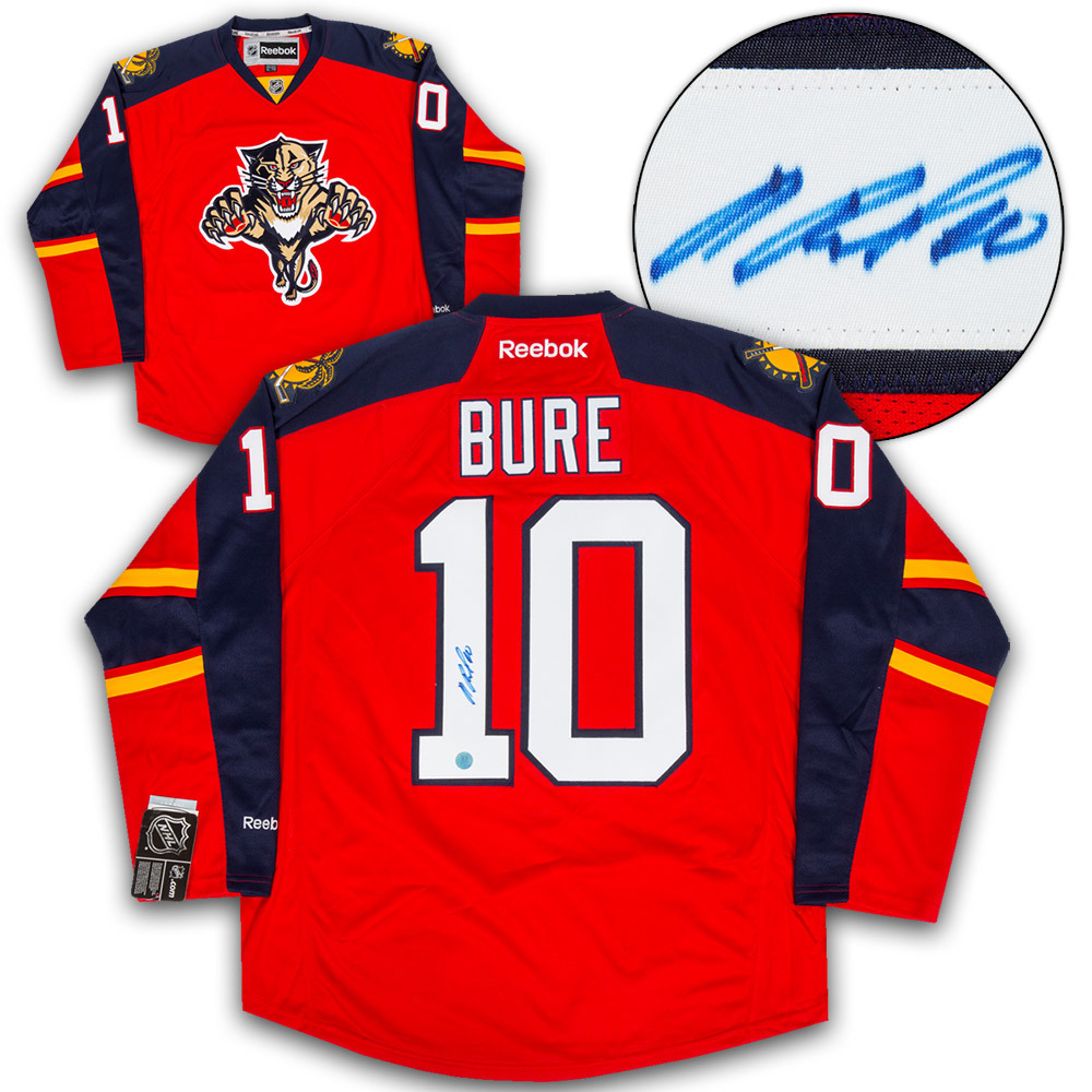 Pavel Bure Florida Panthers Autographed Reebok Premier Hockey Jersey