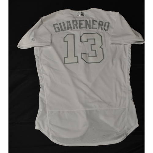 "Photo of Ehire ""Guarenero"" Adrianza Minnesota Twins Game-Used 2019 Players' Weekend Jersey"