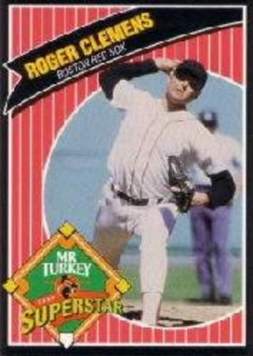 Photo of 1992 Mr. Turkey Superstars #7 Roger Clemens