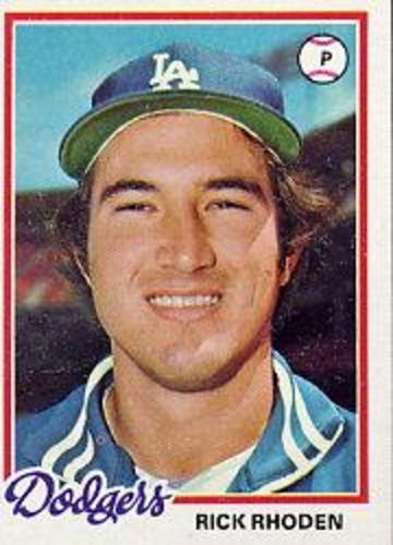 Photo of 1978 Topps #605 Rick Rhoden