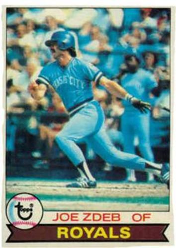 Photo of 1979 Topps #389 Joe Zdeb