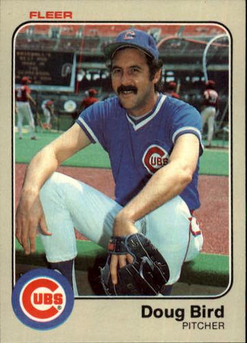 Photo of 1983 Fleer #490 Doug Bird