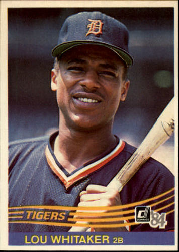 Photo of 1984 Donruss #227 Lou Whitaker