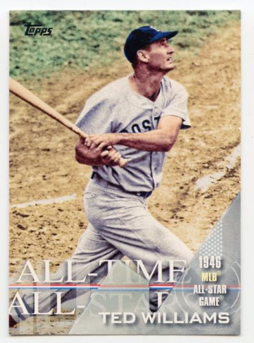 Photo of 2017 Topps All Time All Stars #ATAS20 Ted Williams