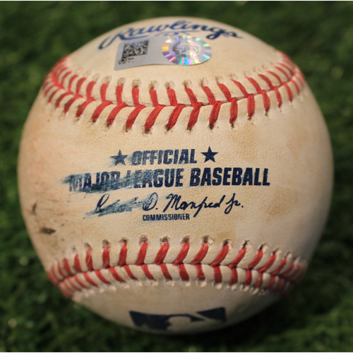 Photo of Game-Used Baseball: Shane Bieber 570th Career Strikeout (CLE@KC 5/5/21)