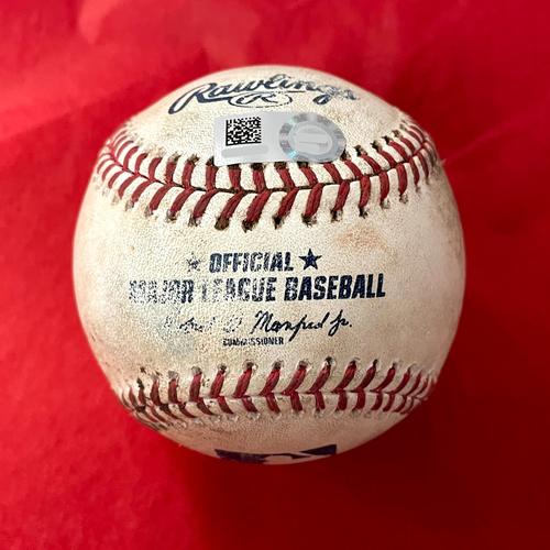 Photo of Game-Used Baseball - Ketel Marte Single, Pavin Smith HBP vs. Austin Adams - Padres @ D-backs 9/1/2021