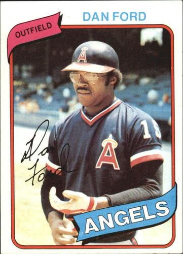 Photo of 1980 Topps #20 Dan Ford