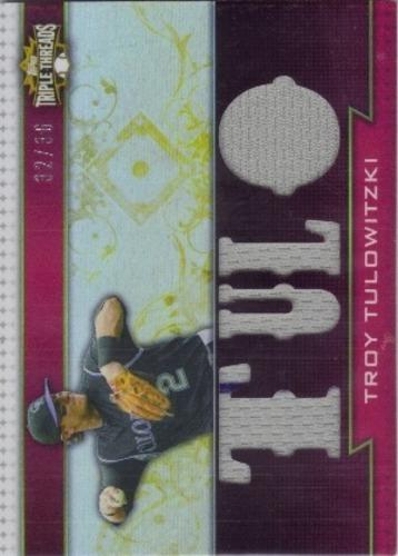 Photo of 2011 Topps Triple Threads Relics #TTR136 Troy Tulowitzki