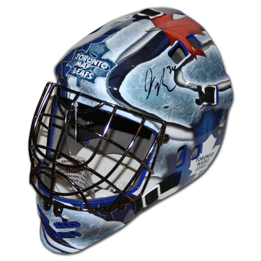 James Reimer Autographed Toronto Maple Leafs Replica Goalie Mask
