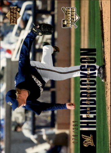 Photo of 2006 Upper Deck Gold #964 Ben Hendrickson /299