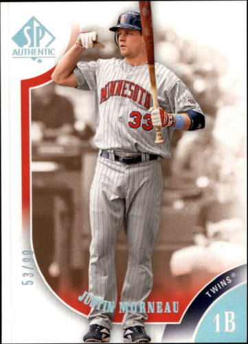 Photo of 2009 SP Authentic Silver #33 Justin Morneau