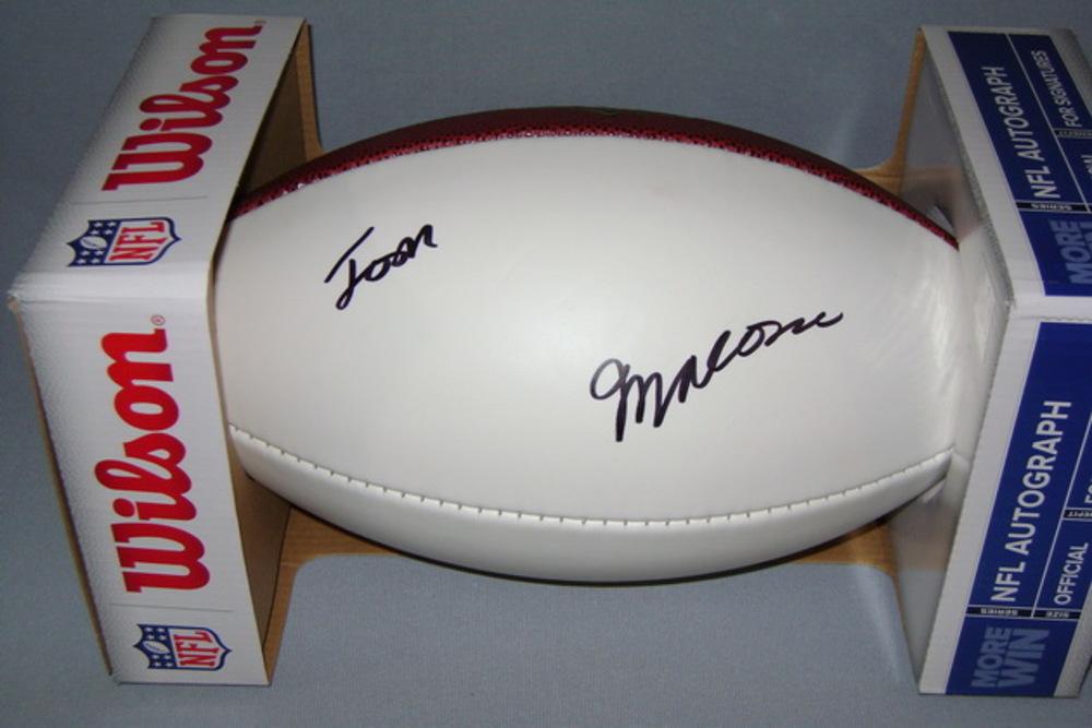 NFL - JETS JOSH MALONE SIGNED PANEL BALL