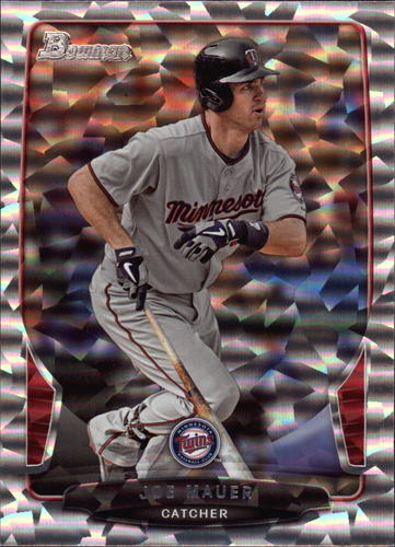 Photo of 2013 Bowman Silver Ice #95 Joe Mauer