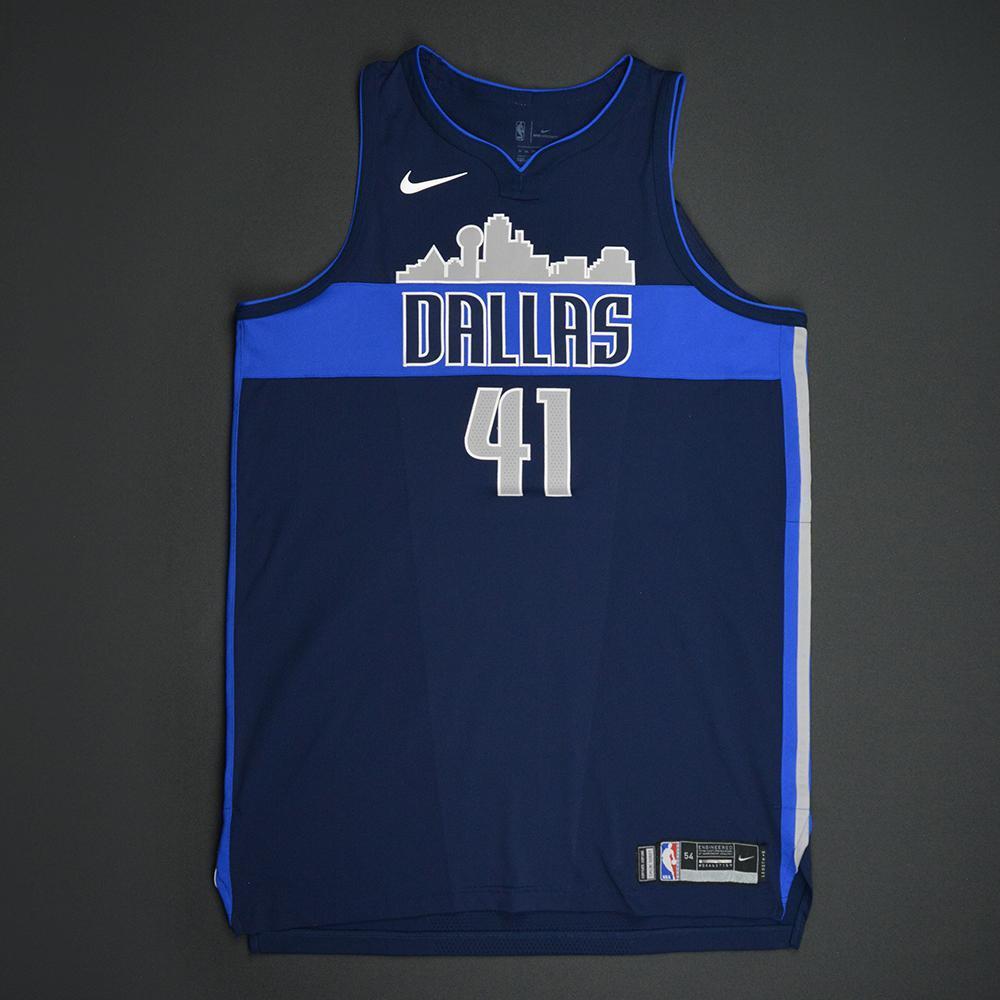 best service 989ac 5ac0f Dirk Nowitzki - Dallas Mavericks - Statement Game-Worn ...